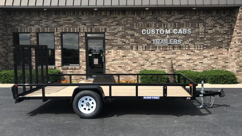 2019 Sure-Trac 7' X 12'  3K  Flatbed Trailer