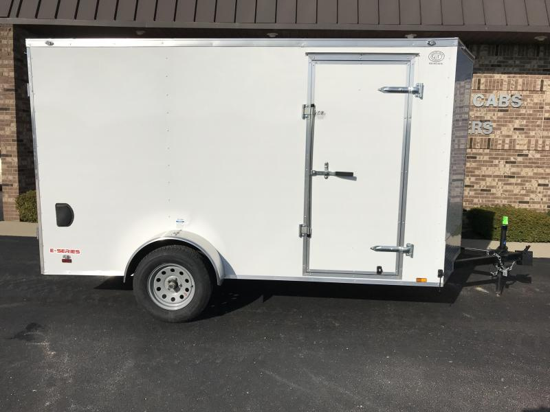 2019 Cargo Mate 6'x12' Enclosed Cargo Trailer
