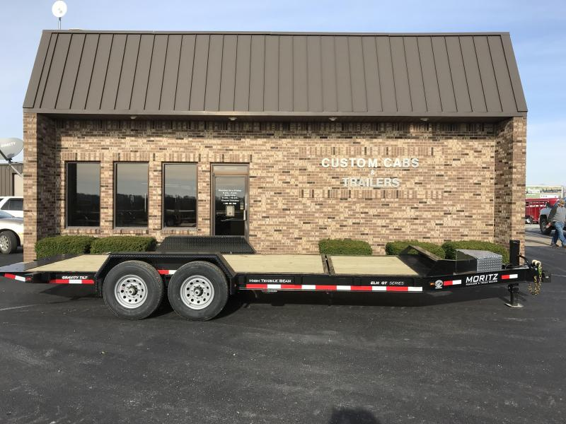 2019 Moritz International 16' + 4' 7K Tilt Flatbed Trailer