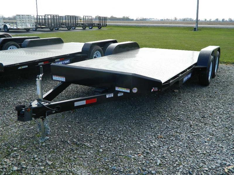 2019 Sure-Trac 7' x 20' 10K  Steel Deck Car Hauler