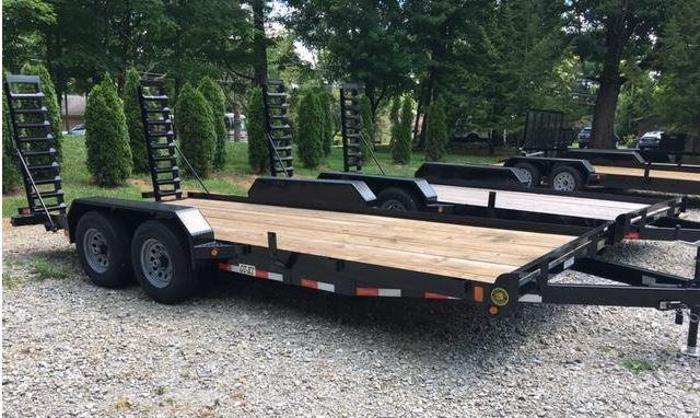 "82"" x 18' GATOR MADE TRACTOR -TRENCHER- TRUCK- SKID STEER EQUIPMENT TRAILER"