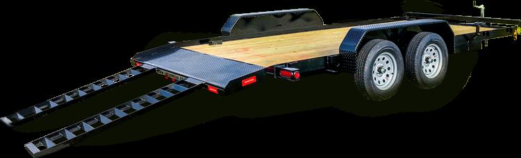 "2019 82"" x 20' GATOR MADE LOW BOY - ATV - CAR HAULER TRAILER"