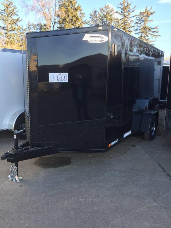 "2019 FORMULA FACTORY SPECIAL ""BLACK OUT"" 7' X 12' ENCLOSED CARGO TRAILER"