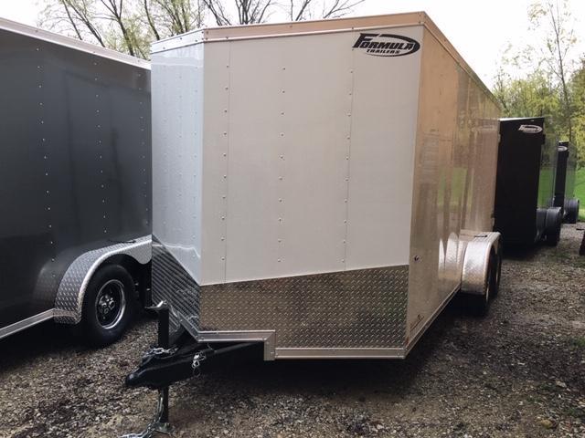 2019 Formula Trailers CONQUEST Enclosed Cargo Trailer