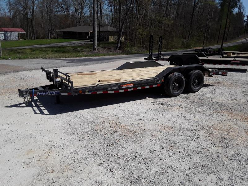"102""x20' Tandem Carhauler Drive Over Fenders W/ Slide in Ramps"