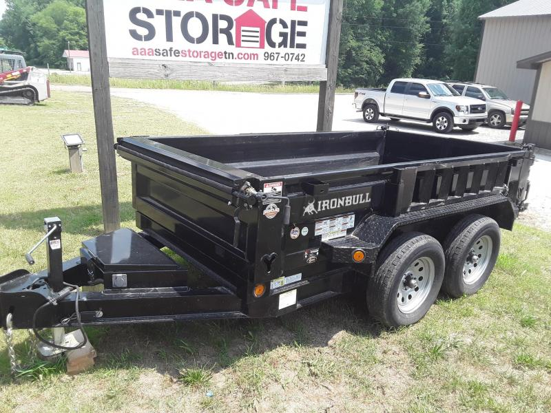 2018 Iron Bull 60 X 10 Dump Trailer W 2 3500 Lb Axles