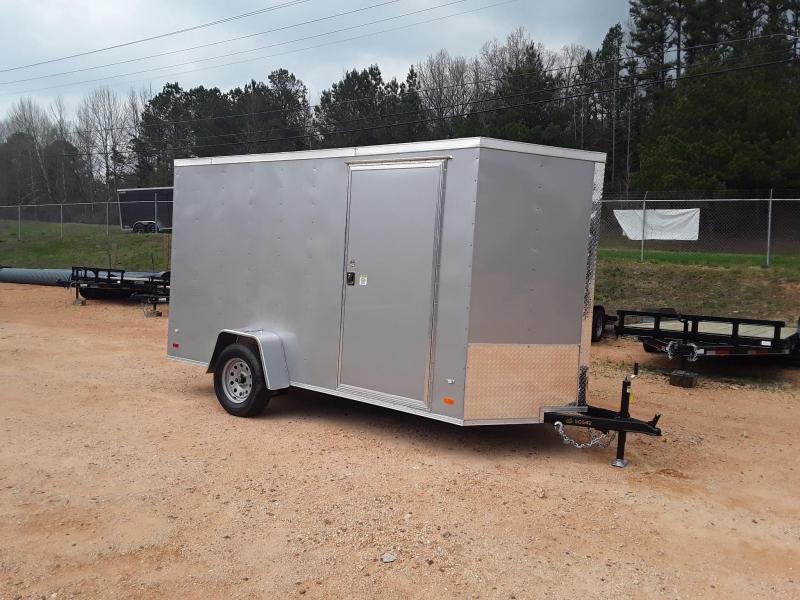 2019 Covered Wagon 6' X 12' Enclosed Cargo Trailer W/ 2990 lb axle