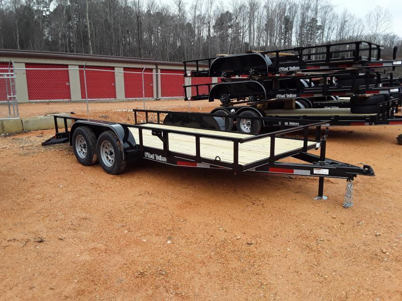 2019 O Neal 6'4 X 14' Utility Trailer  W 2 3500 lb Axles