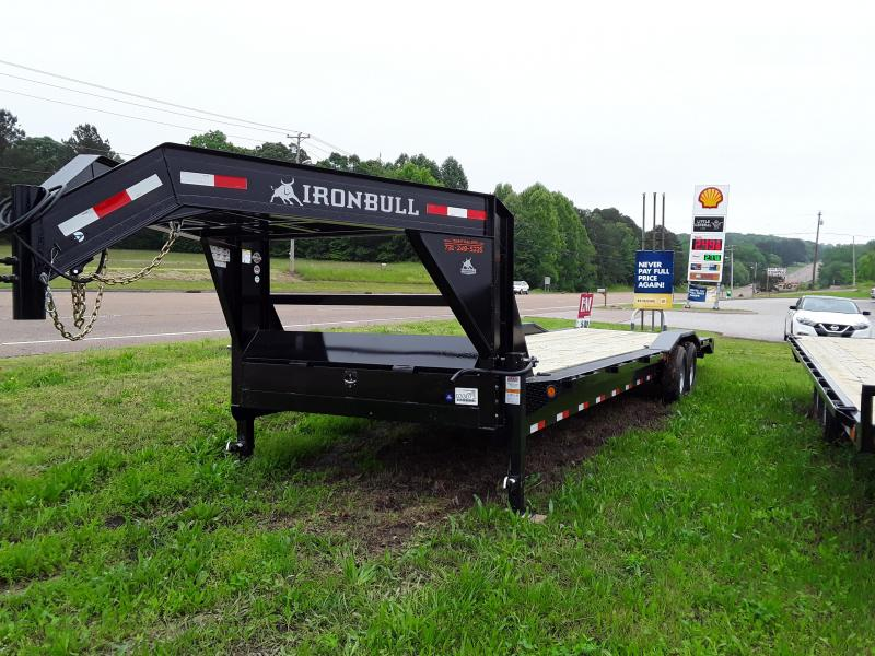 "2019 Iron Bull 102"" X 32' Flatbed Trailer W/ 2 7000 Lb Axles"