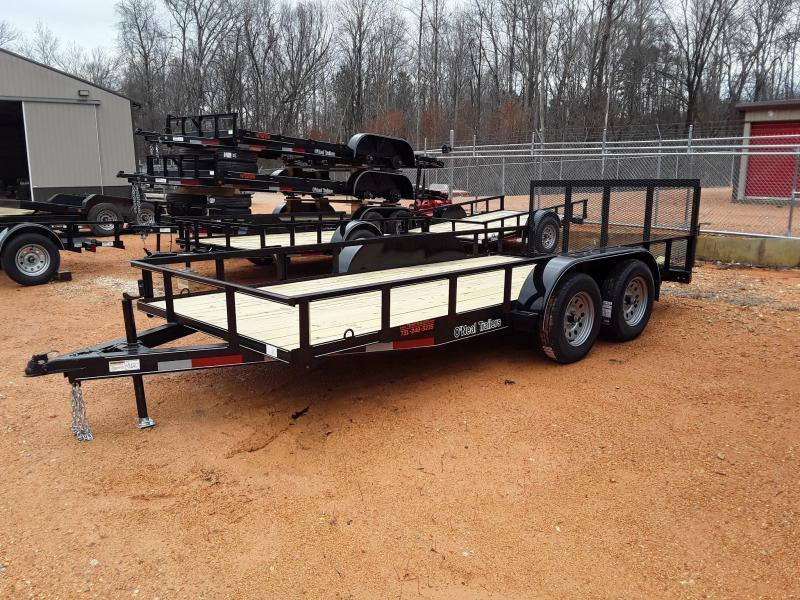 "2019 O Neal 6'4"" X 16' W 2 3500 Lb Axles & Brakes on one Axle"
