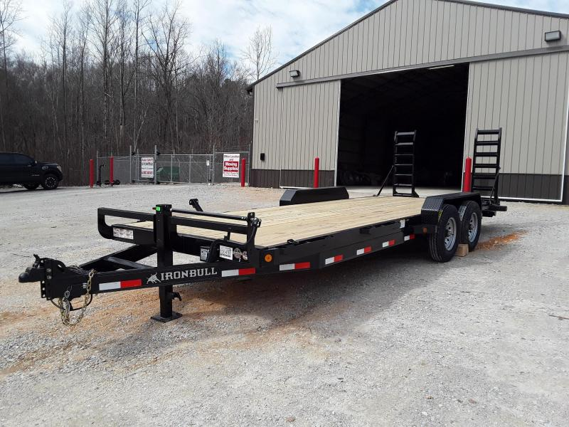 "2019 Iron Bull EQUIPMENT HAULER 83"" X 22'  W/2-7000LB AXLES"