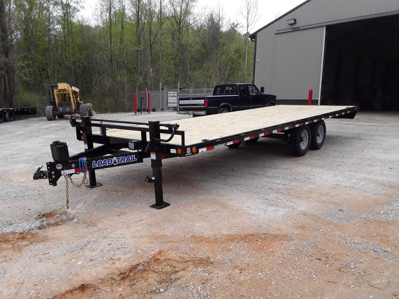 "2019 Load Trail 83"" X 22' Equipment Trailer W 2 7000 Lb Axles"