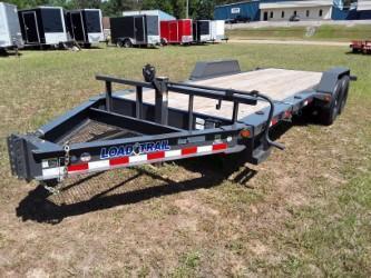 "2018 Load Trail 83"" X 20' Tilt-n-go Tandem Axle Equipment Trailer"