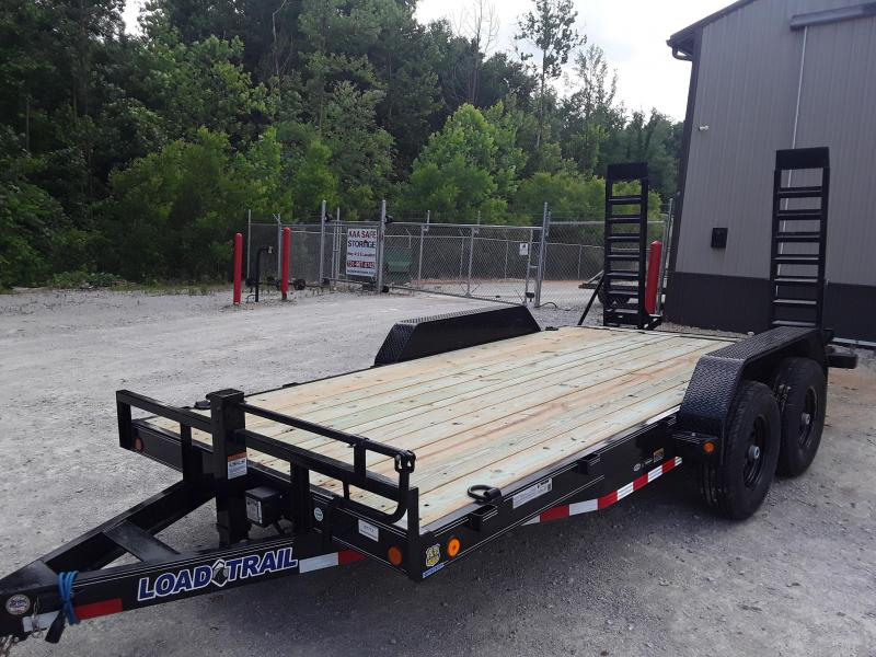 "2019 Load Trail 83"" X 16' Tandem Axle Carhauler/ EquipmentTrailer"
