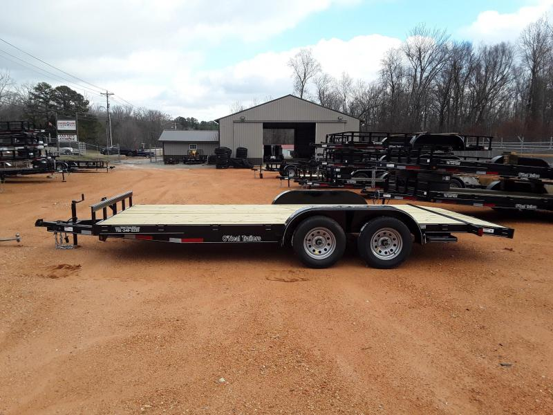 "2019 O Neal 6'10"" X 18' Utility Trailer W Brakes on one axle"