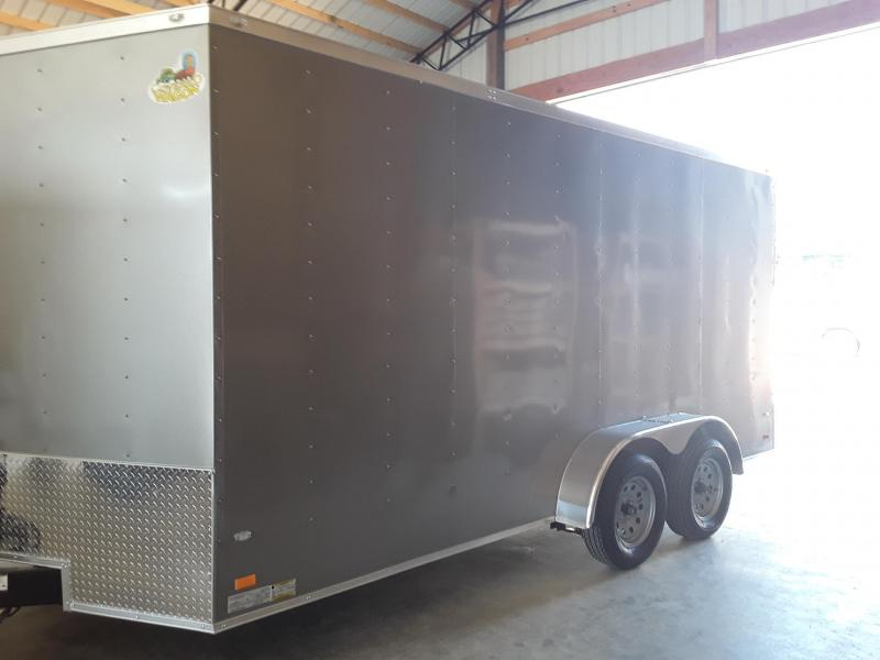 2019 Covered Wagon Trailers 7 X 16 Enclosed 2 3500 lb axles Enclosed Cargo Trailer