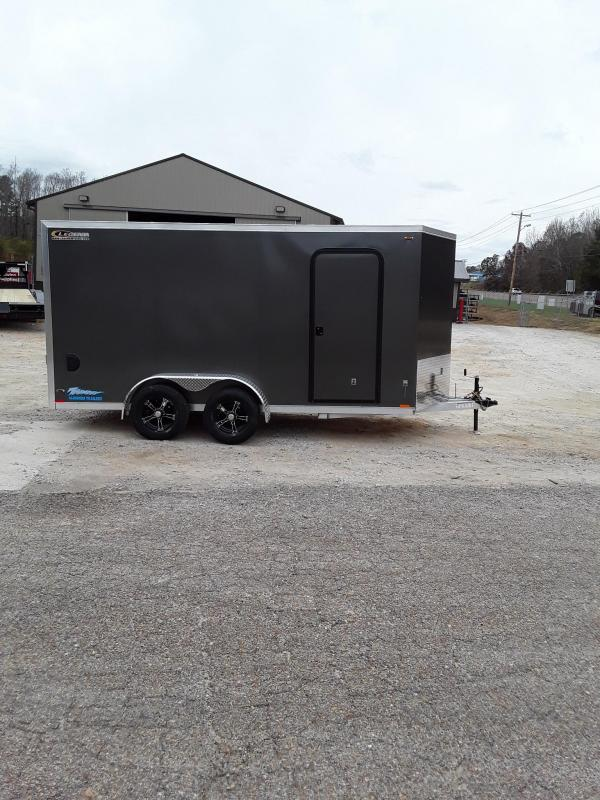 2019 Legend Trailers Thunder V Nose Cargo Enclosed Cargo Trailer 7' X 16' W 2 3500 Lb Axles