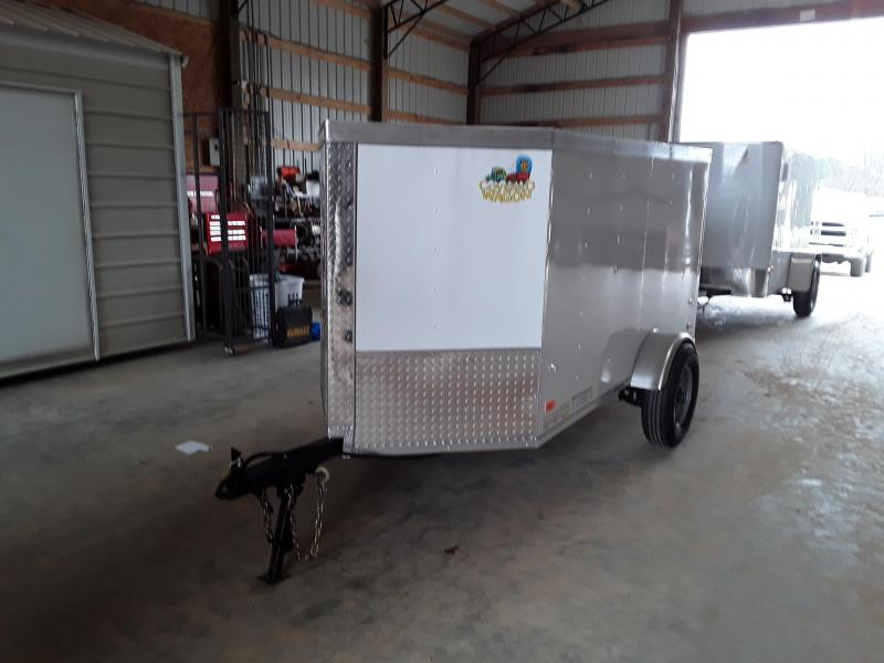 2019 Covered Wagon Trailers 4X8 SA Gold Enclosed Cargo Trailer