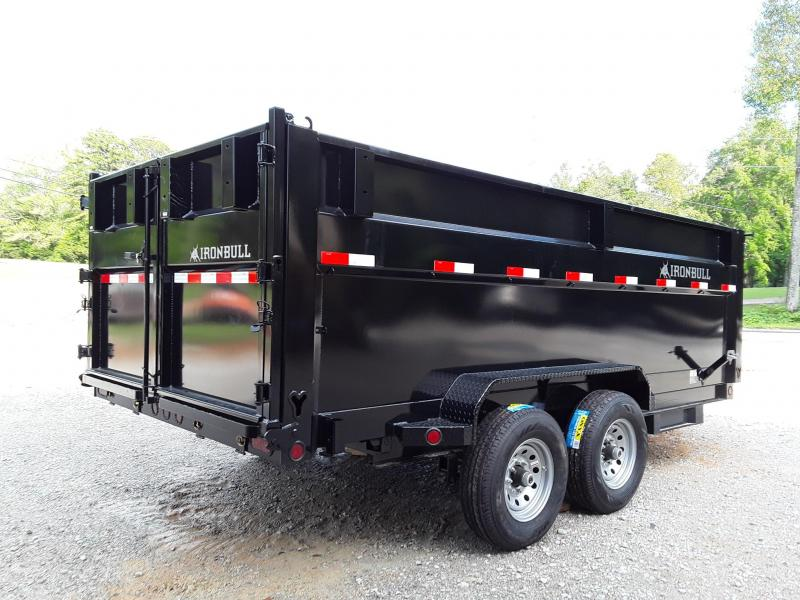 2018 Iron Bull High Side Dump Trailer 83 X 16 X 48