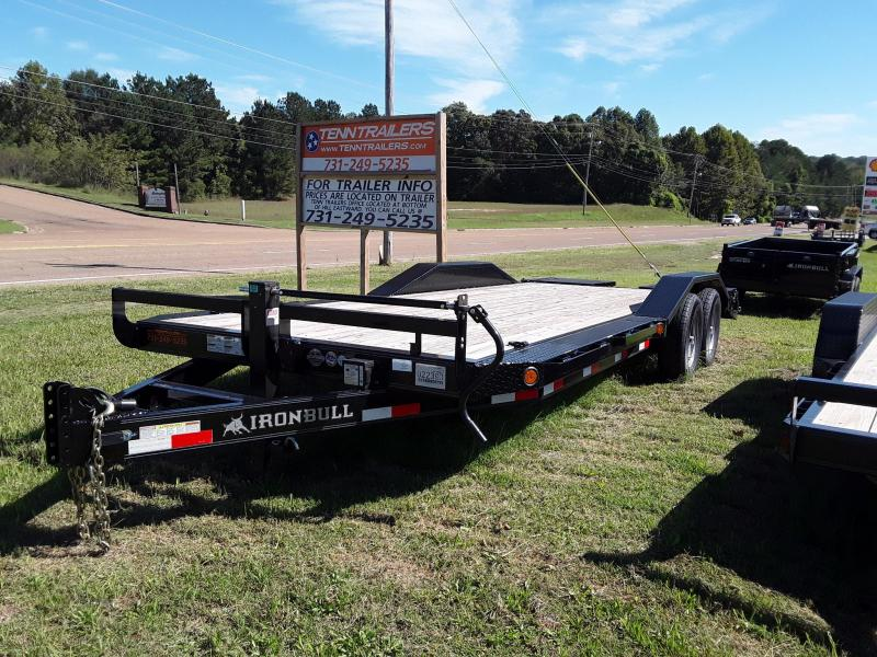 "2018 Iron Bull Equipment Trailer 102"" X 22' W 2 7000 Lb Axles"