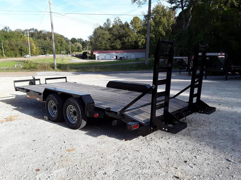 2018 18' Iron Bull Equipment Trailer w/2 5200 lb axles