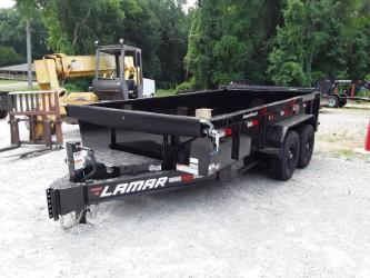 2018 Lamar Trailers 83 X 14 LOW-PRO DUMP 14K Dump Trailer