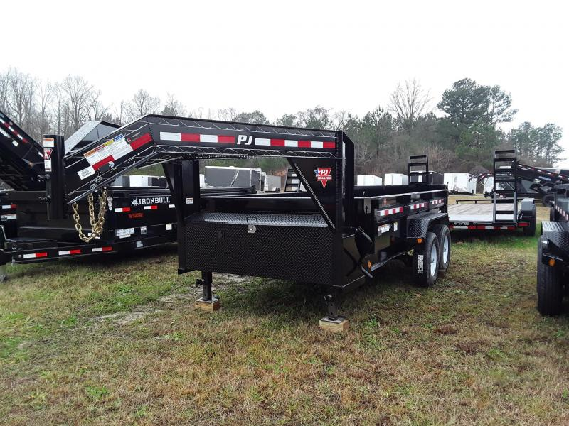 "2019 PJ Trailers 14' x 83"" Dump Trailer W/ 2 7000 Lb Axles"