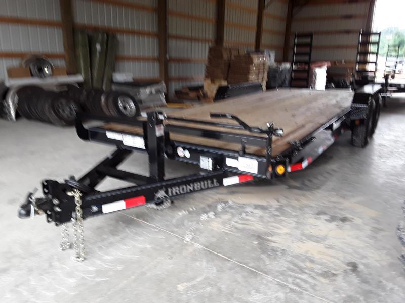 2018 Iron Bull Iron Bull 83 X 22 Equipment Trailer Equipment Trailer