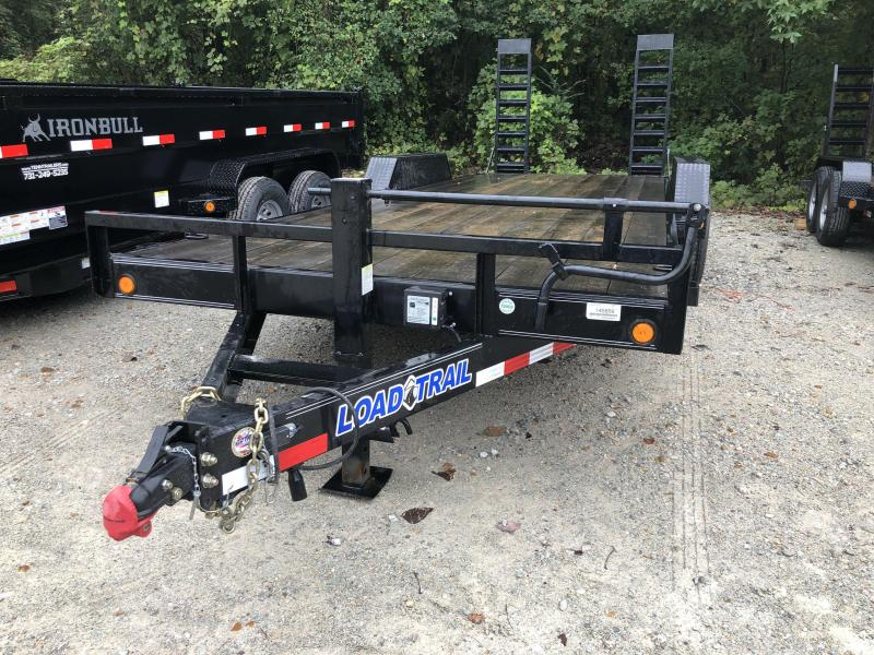 2017 Load Trail Equipment Trailer 22' with Stand Up Ramps
