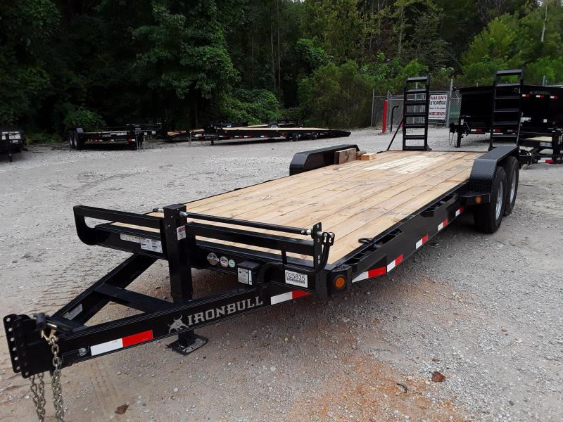 2019 Iron Bull EQUIPMENT HAULER 83 X 18 Equipment Trailer