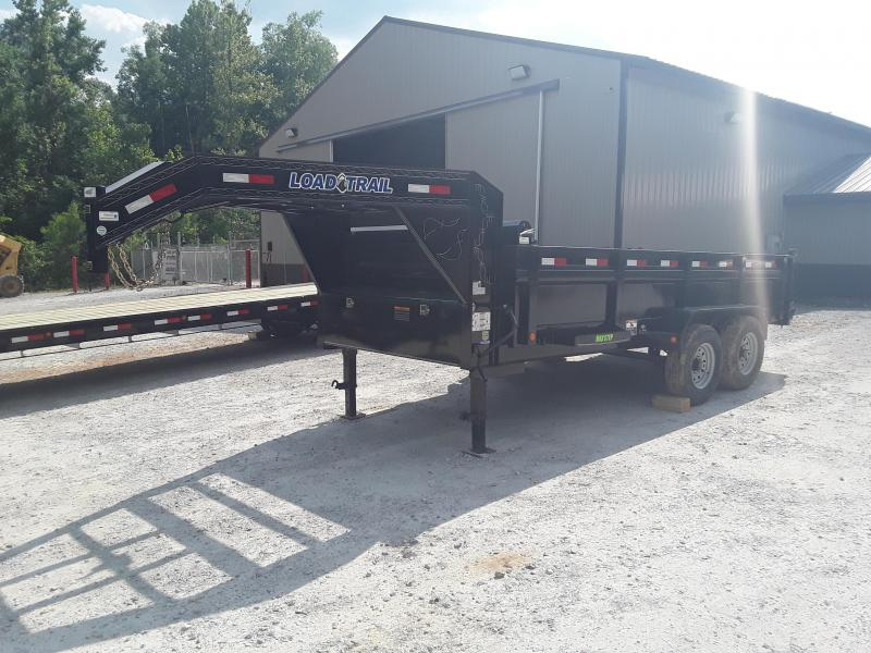 "2019 Load Trail 83"" X 16' Dump Trailer W 2 70000 Lb Axles"