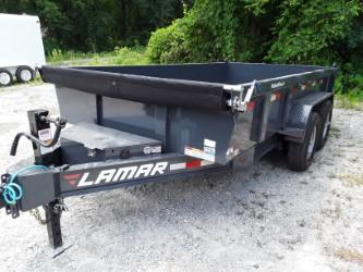 2018 Lamar Trailers 83 X 14' LOW-PRO DUMP 14K Dump Trailer
