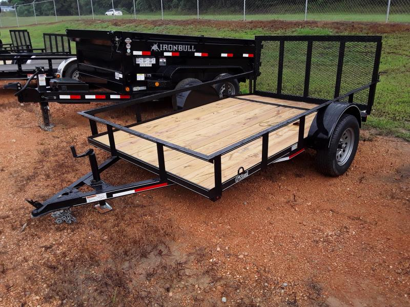 2018 O Neal 6 4 X 10' 2 foot dove 3 foot gate Utility Trailer