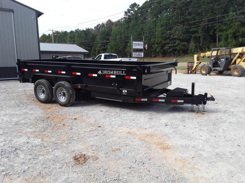 "2019 Iron Bull Dump Dump Trailer 83"" X 16' W 2 70000 lb Axles"