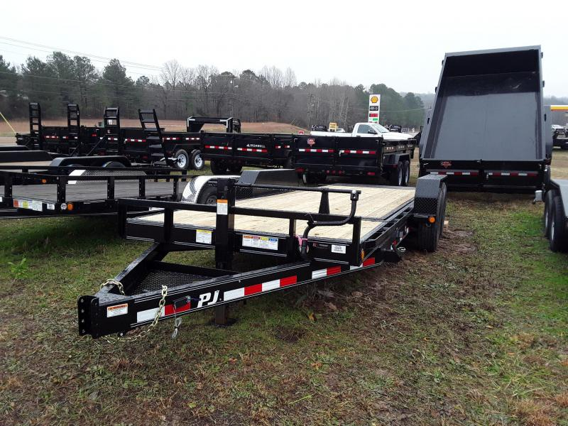 "2019 PJ Trailers  14K Tilt Equipment Trailer 83"" X 20'"