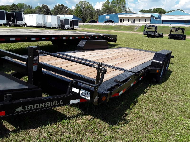 "2018 Iron Bull 83"" X 20' Tilt Equipment Low Pro"