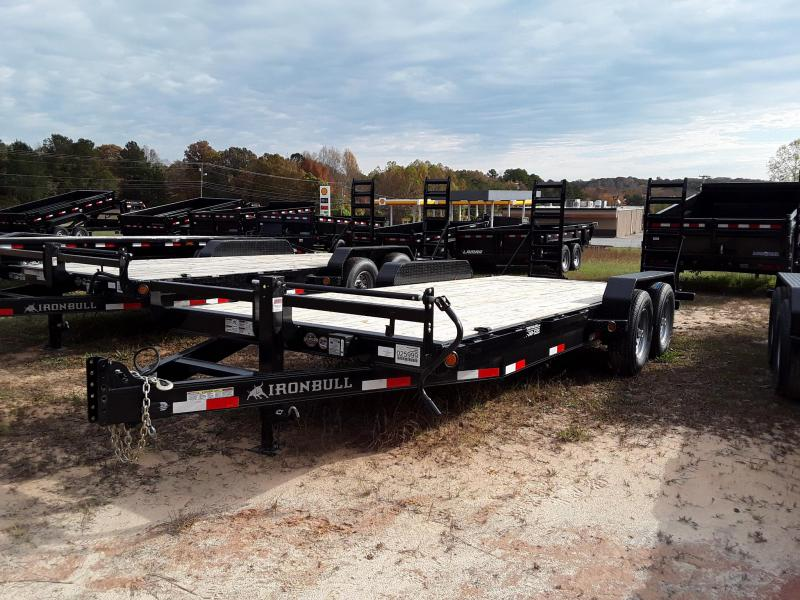 2019 Iron Bull Equipment Trailer W 2 7000 lb axels