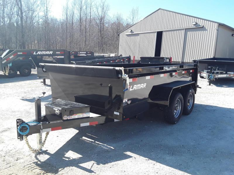 "2019 Lamar Trailers 77"" X 12' MEDIUM DUMP 10K"