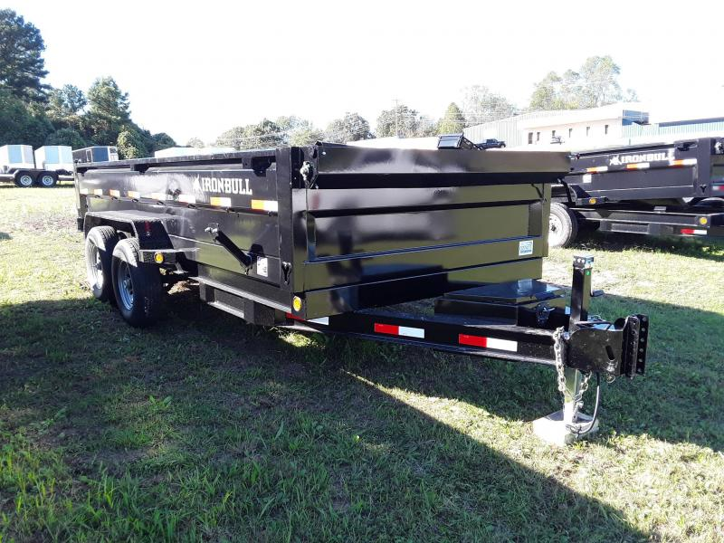 2018 Iron Bull 8 X 16 Dump Trailer  W/ 2 7000 lb axles