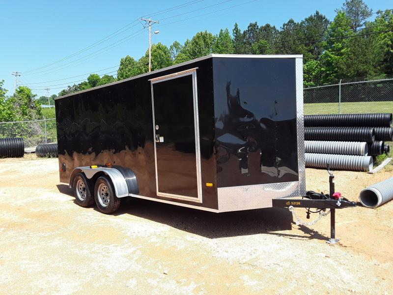 2019 Covered Wagon Trailers 7' X 16' Enclosed Cargo Trailer
