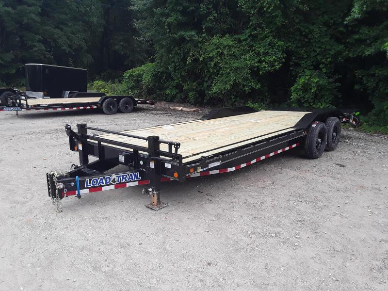 "2019 Load Trail 102"" X 24'  Equipment Trailer W 2 7000 Lb Axles and Max Ramps"