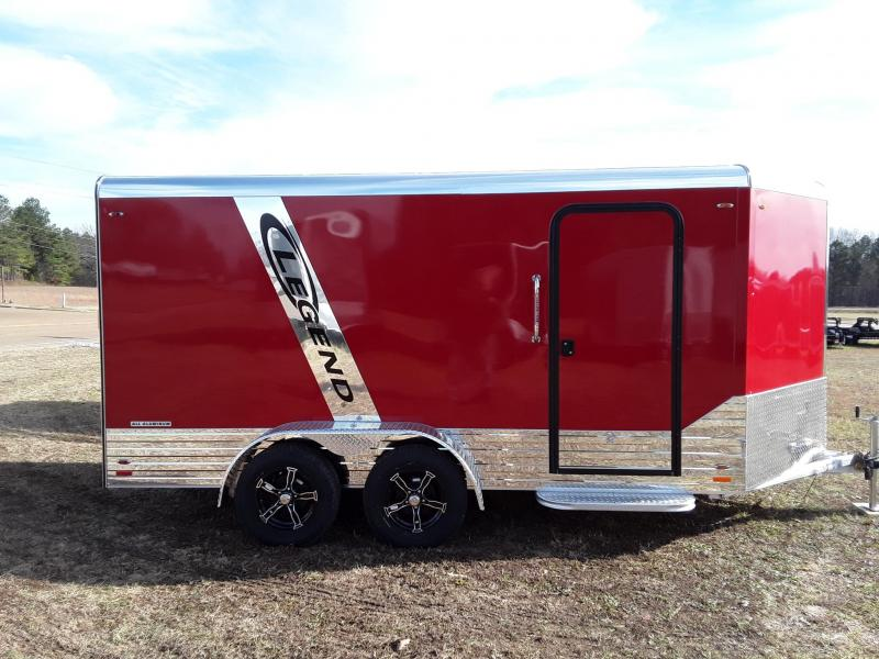 2019 Legend Trailers 7'X17' Deluxe Enclosed Cargo Trailer