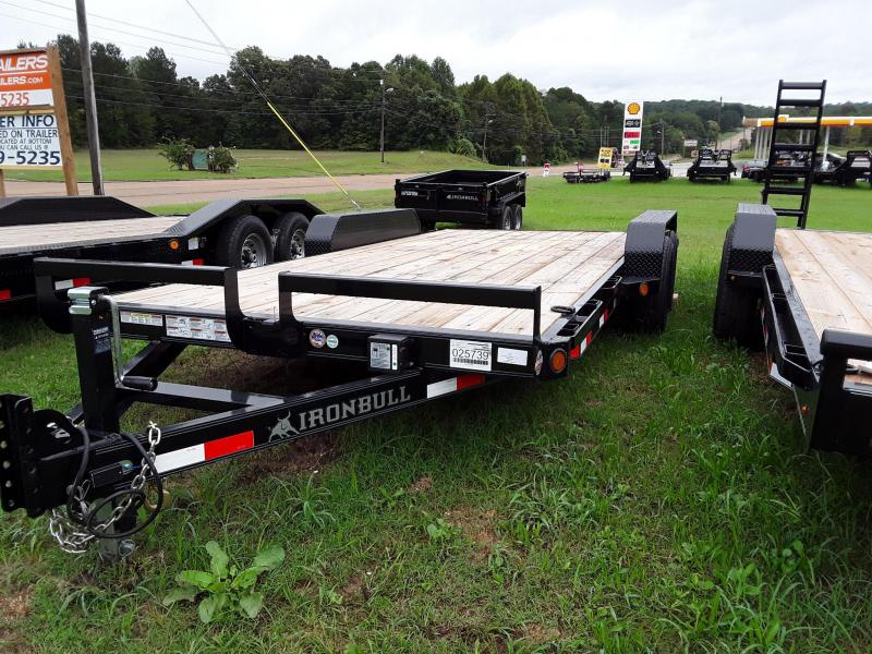 "2019 Iron Bull 83"" X 18' Equipment Trailer W/ 2 5200 lb Axles"