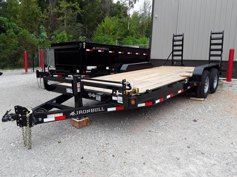 2018 Iron Bull Equipment Hauler 83 X 20 Equipment Trailer