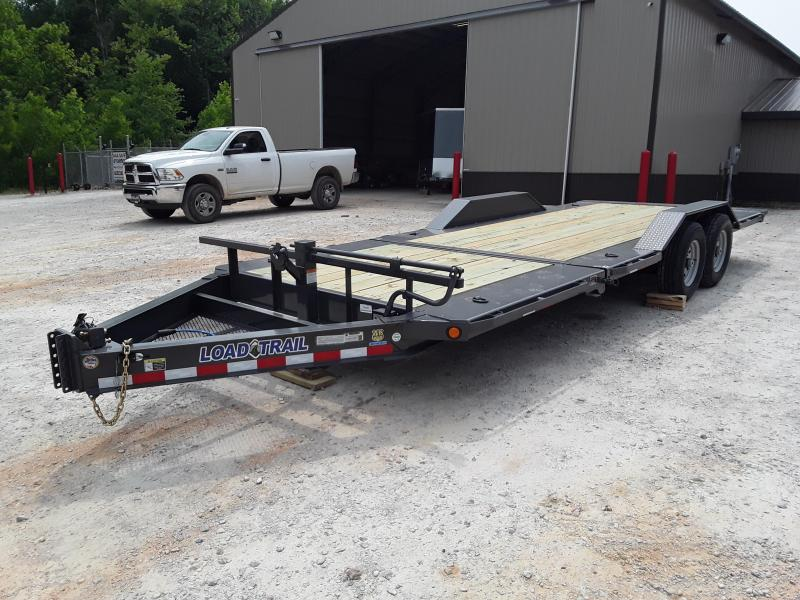 "2019 Load Trail 83"" X 22' Low Pro Tilt Equipment Trailer W 2 7000 Lb Axles"
