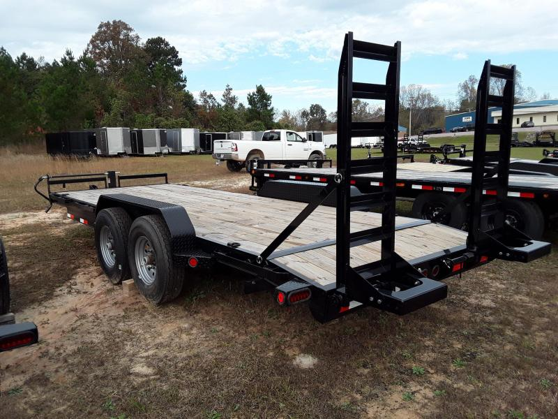"2018 Iron Bull 83""x20' Equipment Trailer W/ 2 8k Axles 16k GVWR"