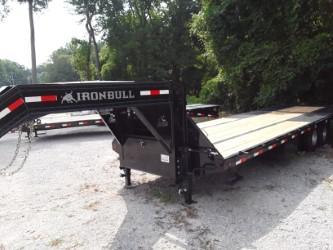 "2018 Iron Bull FLAT DECK LOW PRO W/HYDRAULIC DOVE 102"" X 30' 2-12K Axles"