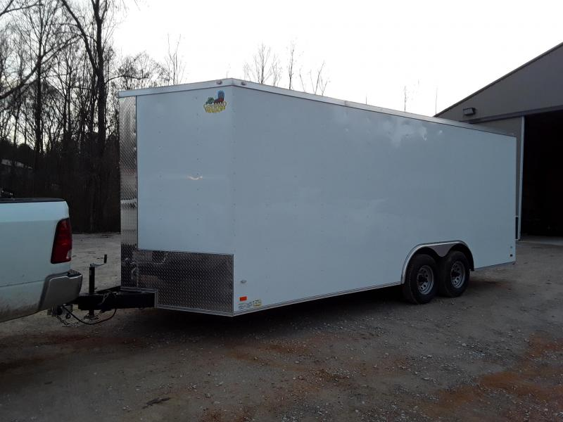 2018 Covered Wagon Trailers 8.5X20TA Gold Enclosed Cargo Trailer