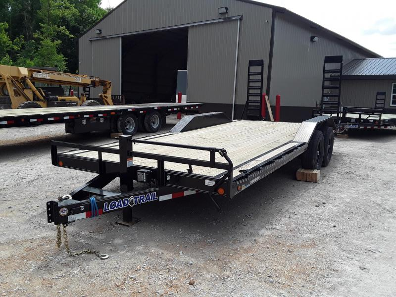 "2019 Load Trail 102 "" X 20' Equipment Trailer With 2 7000 Lb Axles and drive over fenders"
