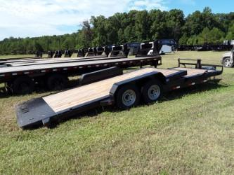 2018 Iron Bull TILT EQUIPMENT LOW PRO 83 x 22 2-7000 LB AXLES Equipment Trailer